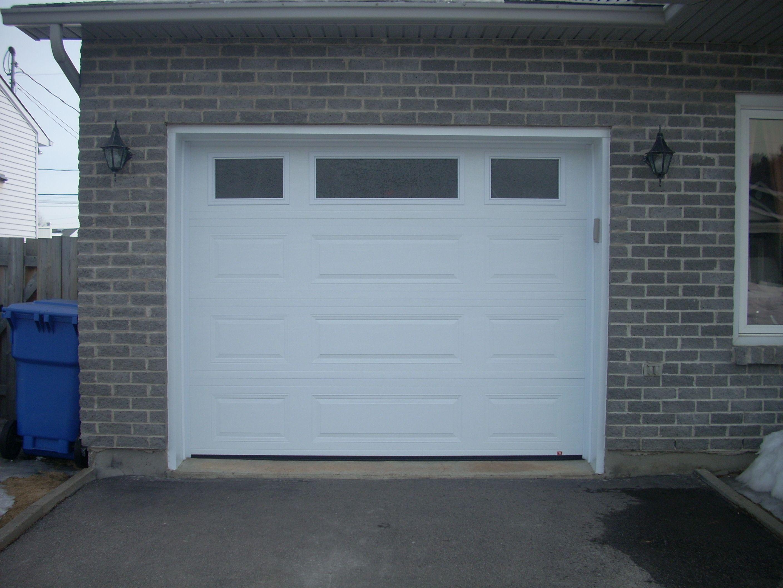 Portes De Garage En Acier Portes Bourassa Garage En Acier Porte Garage Garage