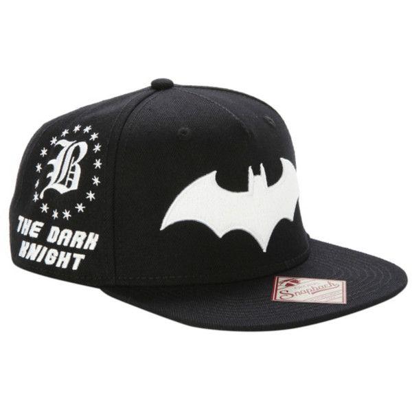 c42ad57c28fdc DC Comics Batman Embroidered Snapback Hat