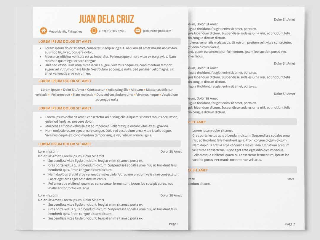 Creative resume inforati philippines creative resume
