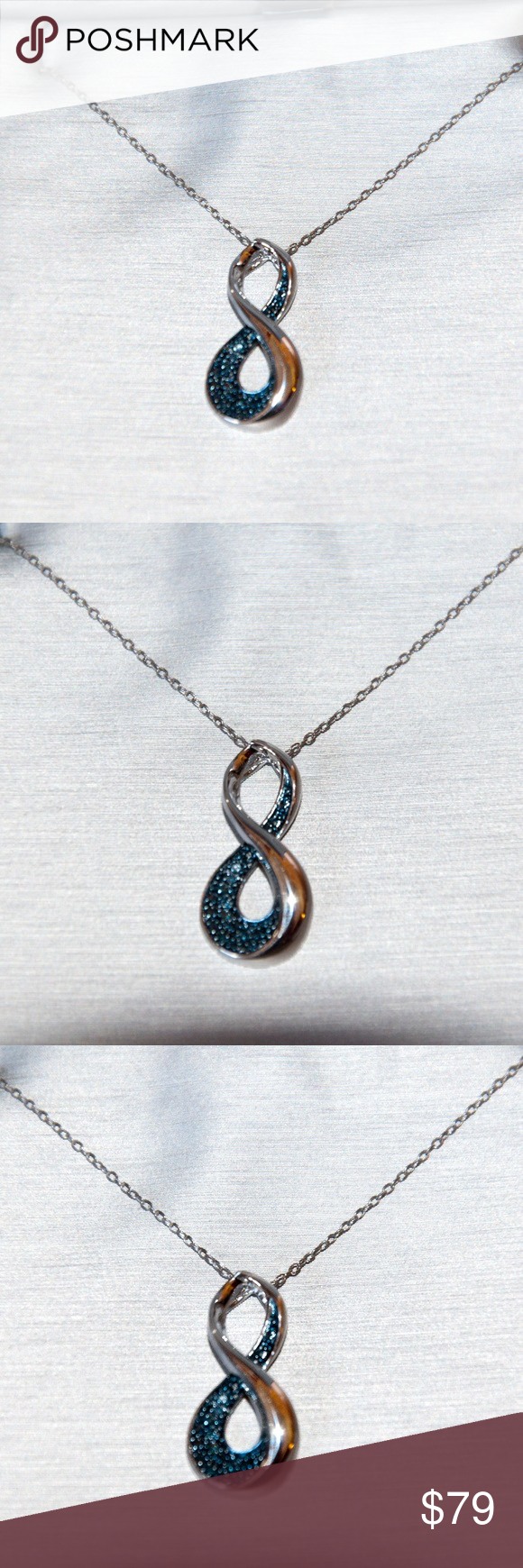 New zales infinity sterling silver necklace zales jewelry