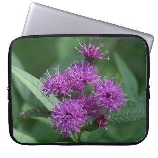 Wildflower, Electronics Bag. Laptop Computer Sleeve