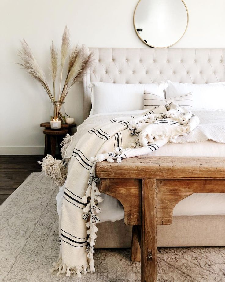 Photo of Bedroom – A mixture of modern, Bohemian and industrial furnishing styles from …