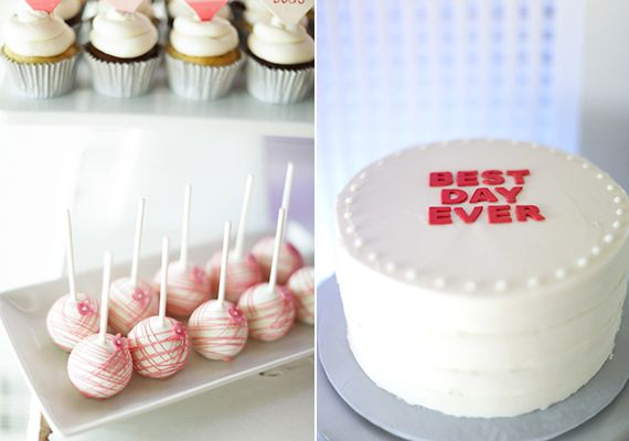 Captivating Second Birthday Party Desserts | Ashley Nicole Events | 100 Layer Cakelet