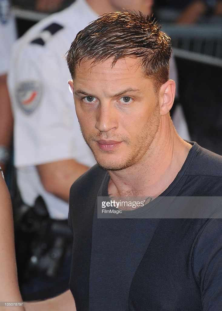 Tom Hardy arrives to attend the Paris Premiere for the film 'Inception' at Gaumont Champs Elysees on July 10, 2010 in Paris, France.