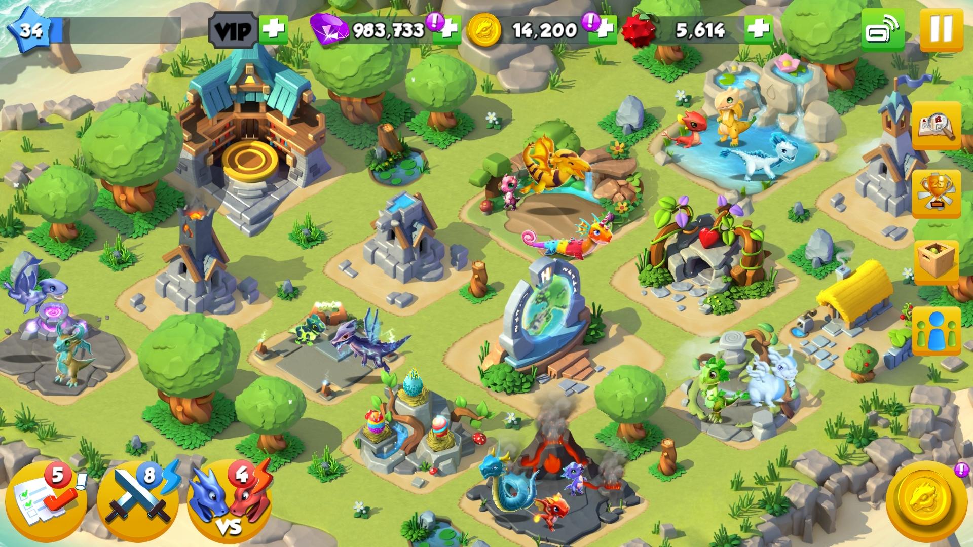 Dragon Mania Legends for iOS iPhone screenshot 002 | WISH I