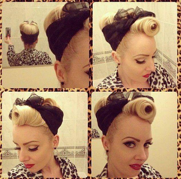 Love These Pinup Bandana Looks Hair I Love Pinterest Bandanas