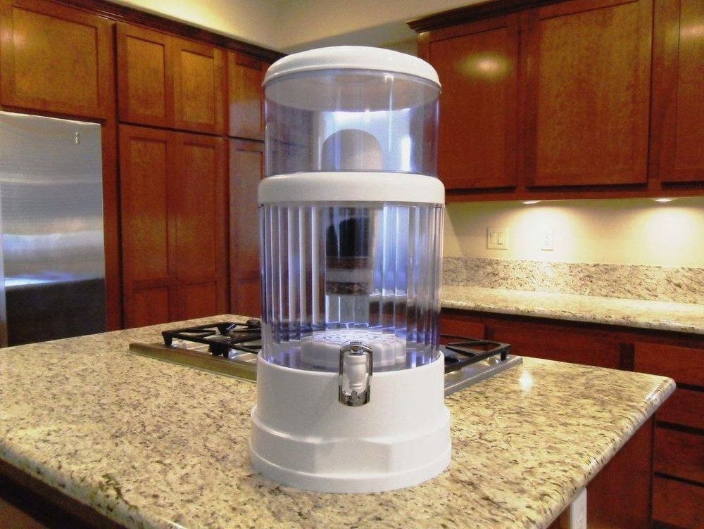 Countertop Water Filter System 4 G Filtration Purification