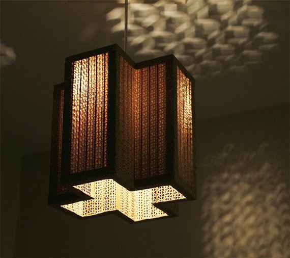 Unique Hanging Lamps hanging lamp | pendant light | handmade| eco-friendly | unique