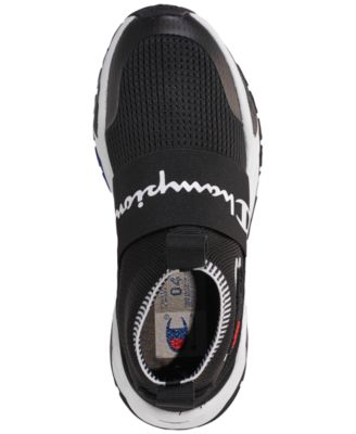 7ad0c82a9a47a Champion Boys  Rally Pro Casual Athletic Sneakers from Finish Line - Black  4.5