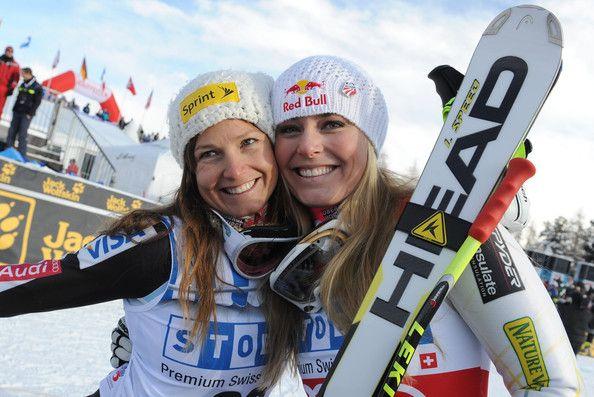 Julia Mancuso and Lindsey Vonn Photos - Audi FIS Alpine Ski World Cup - Women's Downhill - Zimbio