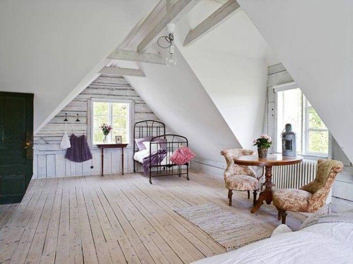 quels meubles dans une chambre sous pente comment amnager un petit salon