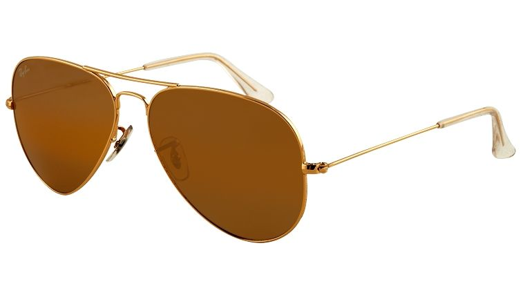 ddac55f5381b Ray-Ban Aviators Gold with Brown Lenses RB 3025 001 33