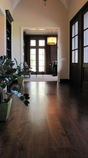 Wide Plank Flooring White Trim I Like Dark Doors And I Cannot Lie Wood Floors Wide Plank House Flooring Rustic Wood Floors