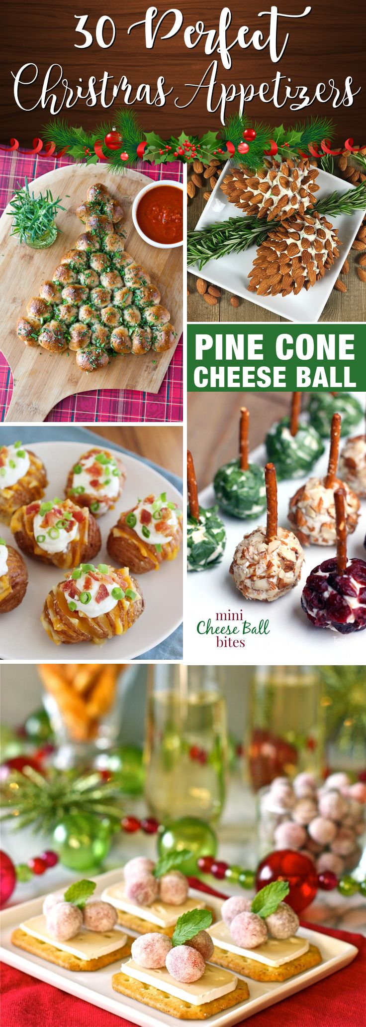 30 Mind-Blowing Recipes for Whipping Up Yummy Appetizers for Christmas – Cute DIY Projects