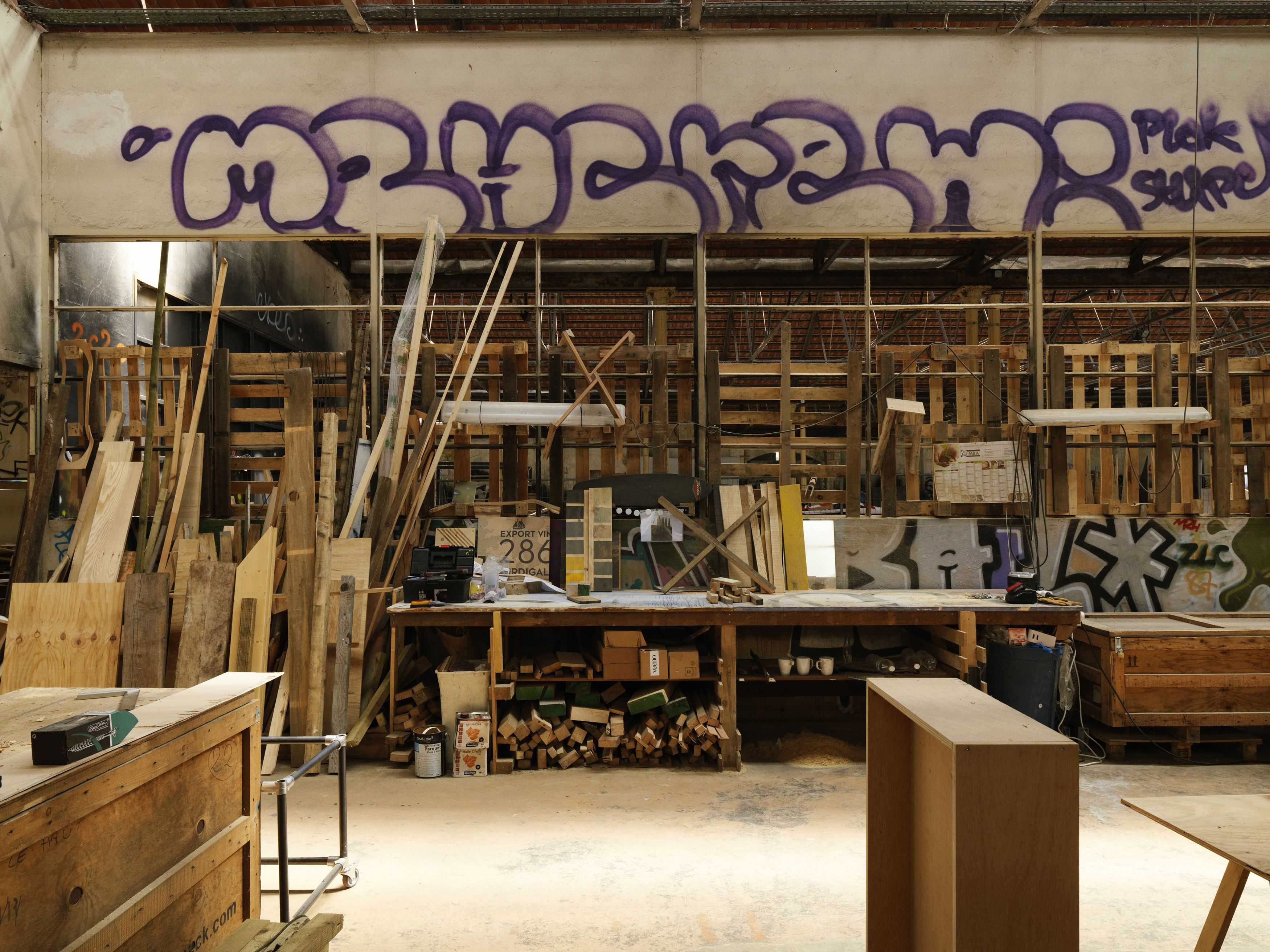 Atelier le bureau baroque photo cyrille weiner bureau