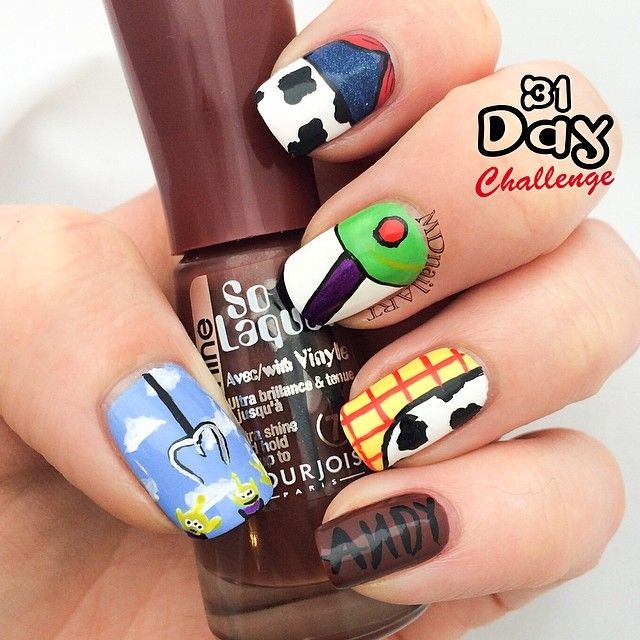 mdnailart toy story #nail #nails #nailart | Disney Nails | Pinterest