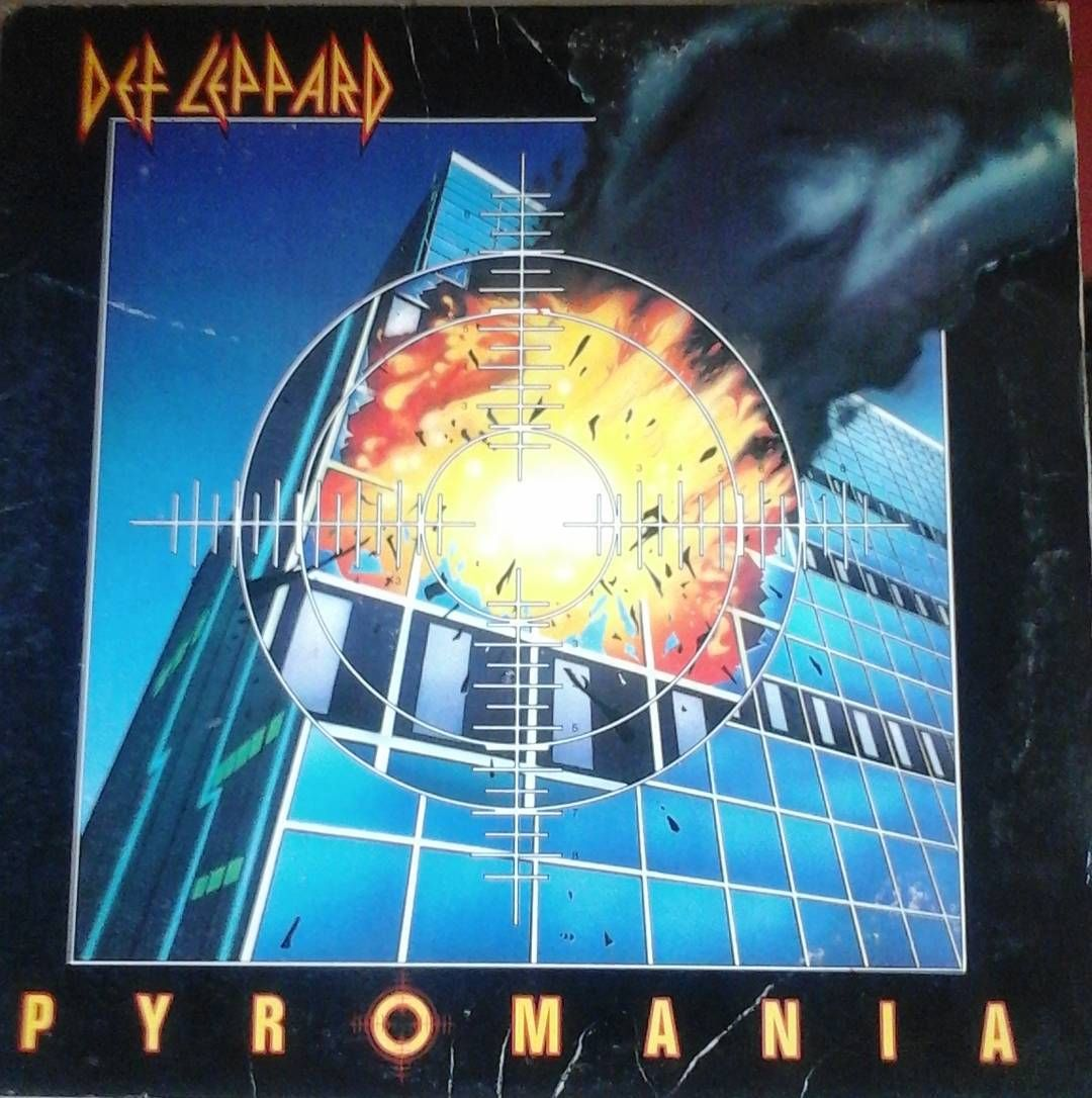 This Brings Back The Memories From High School And Mtv Defleppard Vinyl Lp Album Nowspinning By Vinyl Def Leppard Def Leppard Albums Music Album Covers