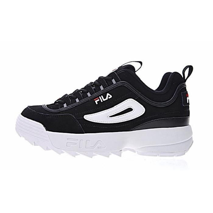Chaussures Fila Disruptor noires Urbaines homme Ap9VJJ8DbR