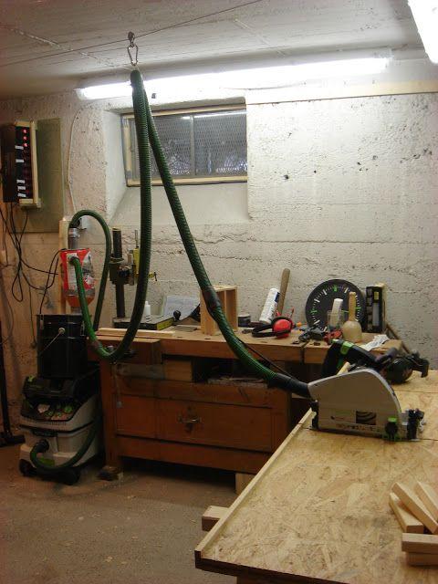 aufh ngung absaugschlauch werkstatt absaugung pinterest werkstatt zyklonabscheider und. Black Bedroom Furniture Sets. Home Design Ideas