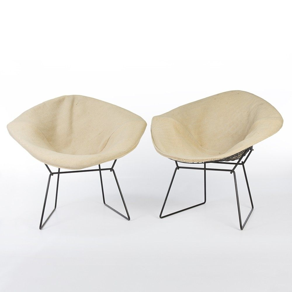 Knoll international bertoia stuhl von harry bertoia 1952 - Set Of 2 Diamond Arm Chairs From The Sixties By Harry Bertoia For Knoll