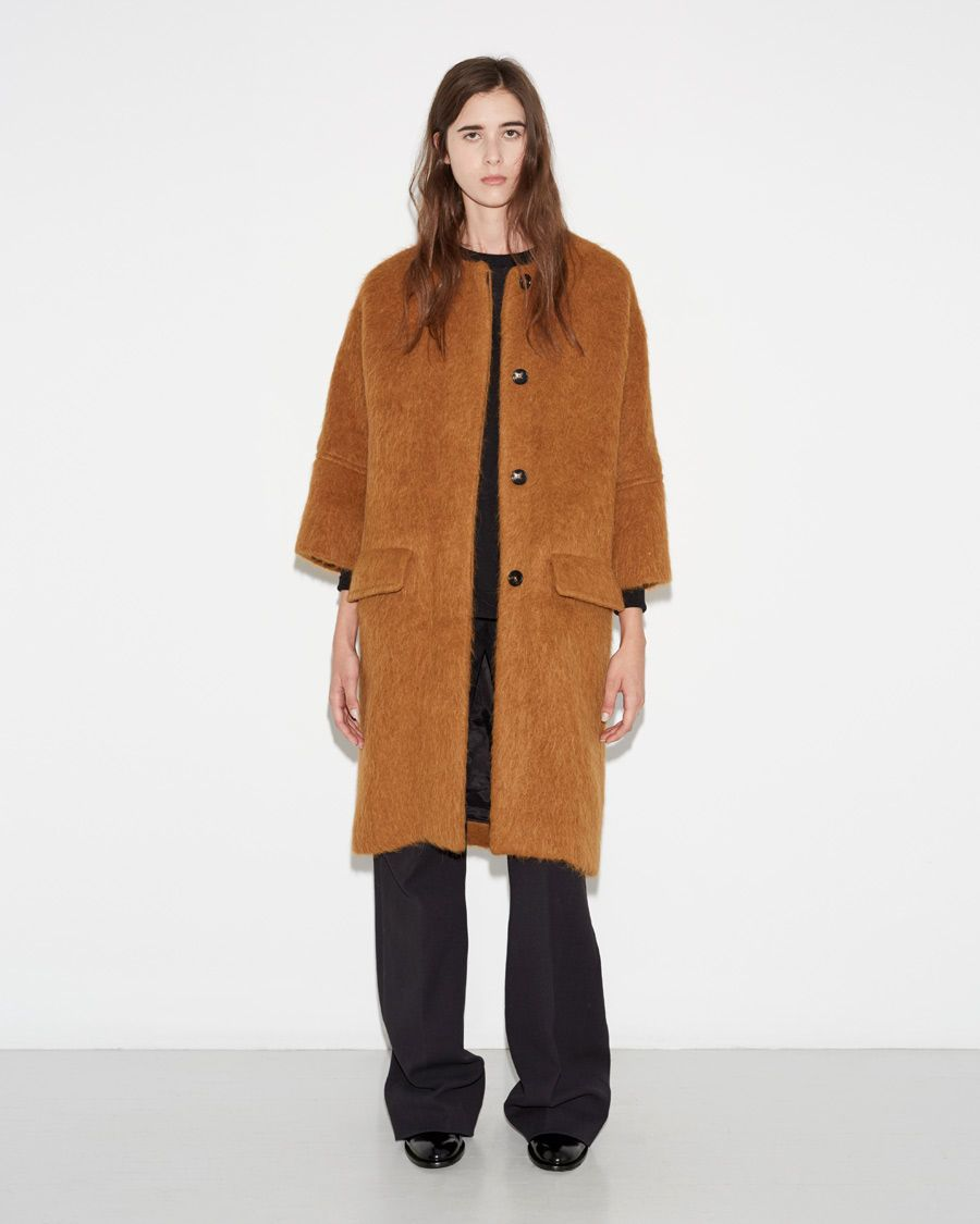MARNI | Alpaca Coat | Shop at La Garçonne