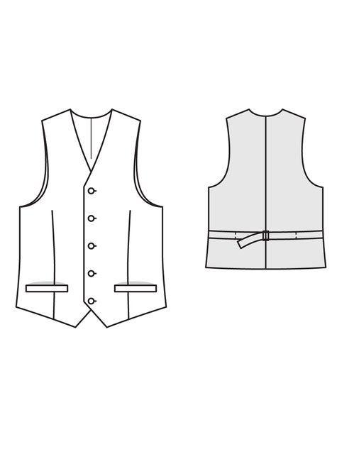 how to make a fur waistcoat