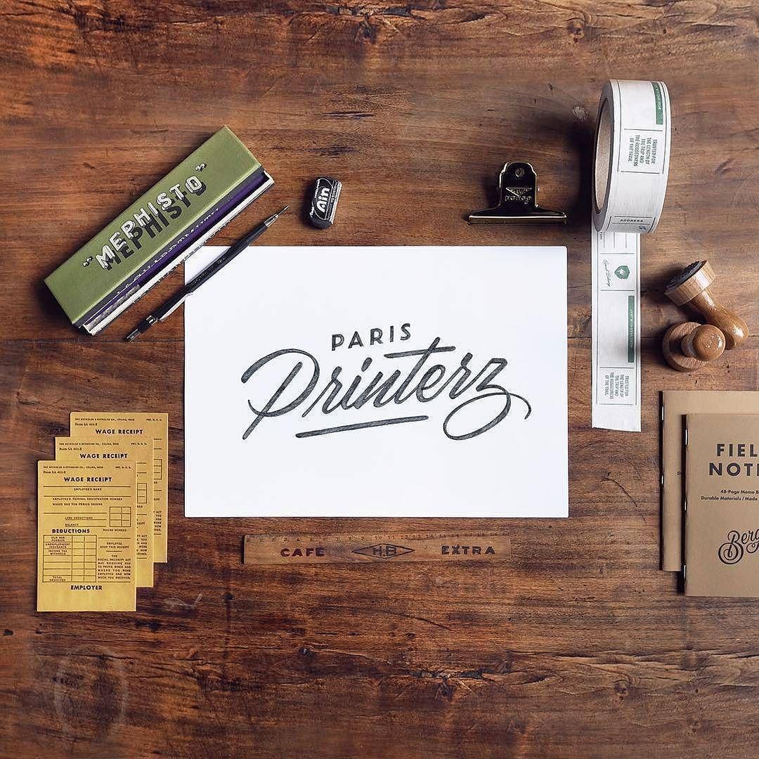 Minimalist Homeoffice Design: Minimalist Font, Logos Design