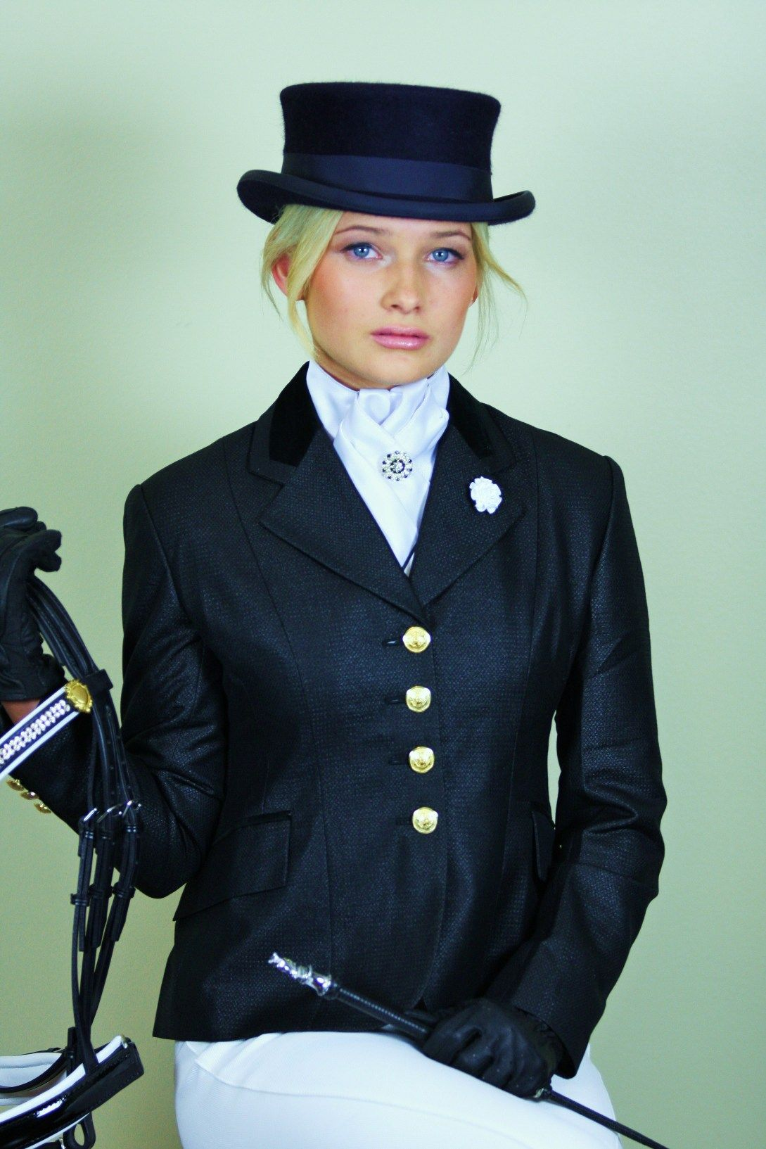 Sparkle dressage jacket Riding outfit, Equestrian