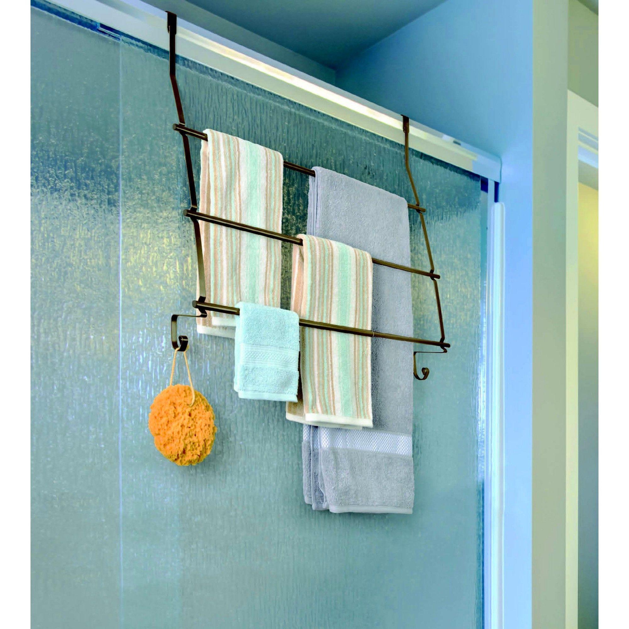 Fancy Towel Shelf And Rack Motif - Bathtub Ideas - dilata.info