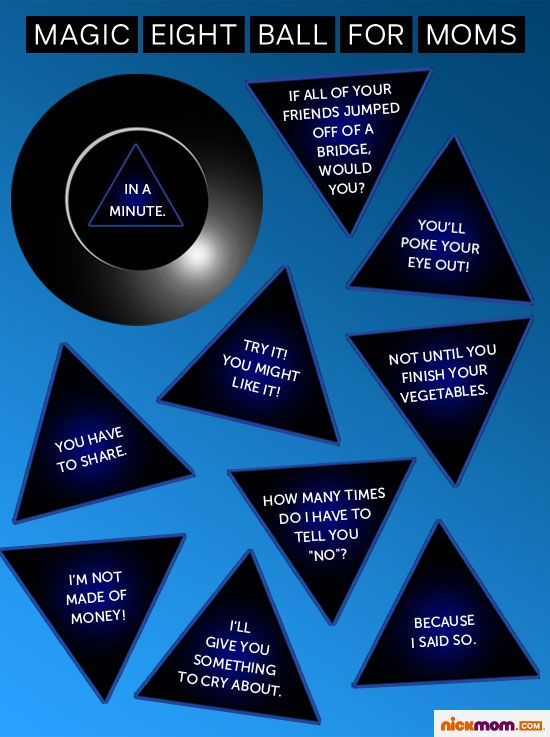 Magic Eight Ball For Moms I Need One Of These Eight Ball Mom Humor Love My Kids