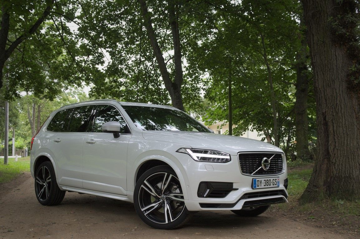 Test Volvo Xc90 T8 Twin Engine Faith In The Future