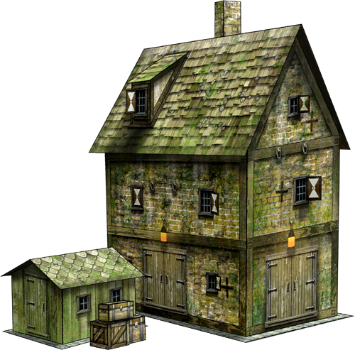 Nifty image throughout free printable 3d buildings