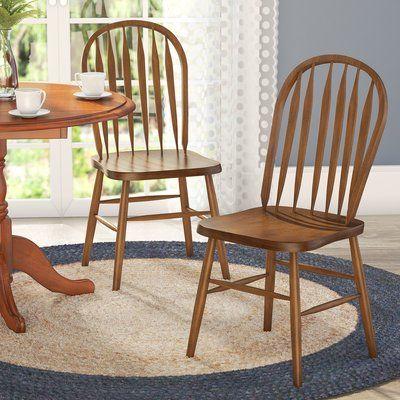 Acadian Arrow Back Windsor Side Chair Set Of 2 Living Room