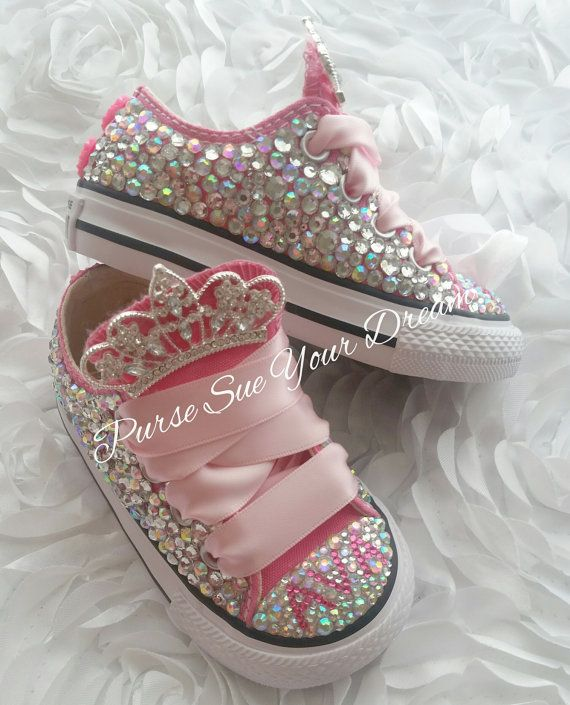Zapatillas Converse crystal swarovski bling bling/ Customized Name without Cost