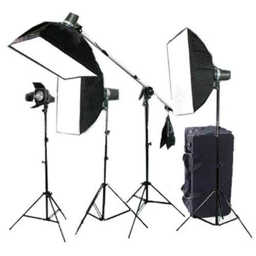 Cowboystudio Pro Photo Studio 640 Watt Four Monolight Strobe Flash Boom Li With Images Photography Lighting Kits Digital Photography Lighting Continuous Lighting