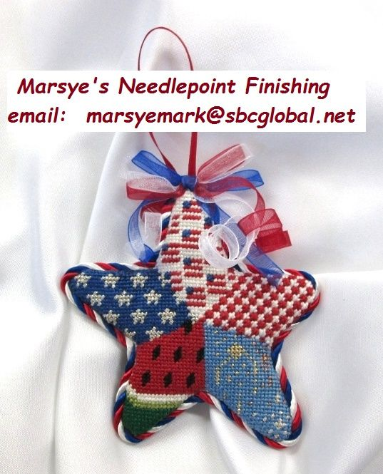 Marsyeu0027s Needlepoint Finishing: You Can Visit My Website To See More  Pictures, Pricing, Email Address And More Info...  Https://marsyesneedlepointu2026