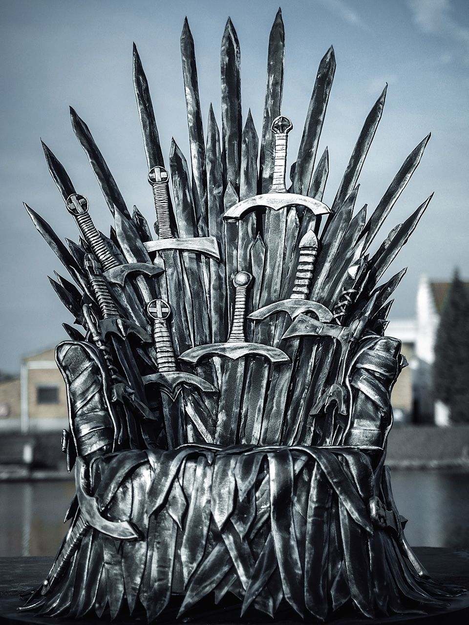 Throne Made Out Of Eva Foam And Worbla Gameofthrones