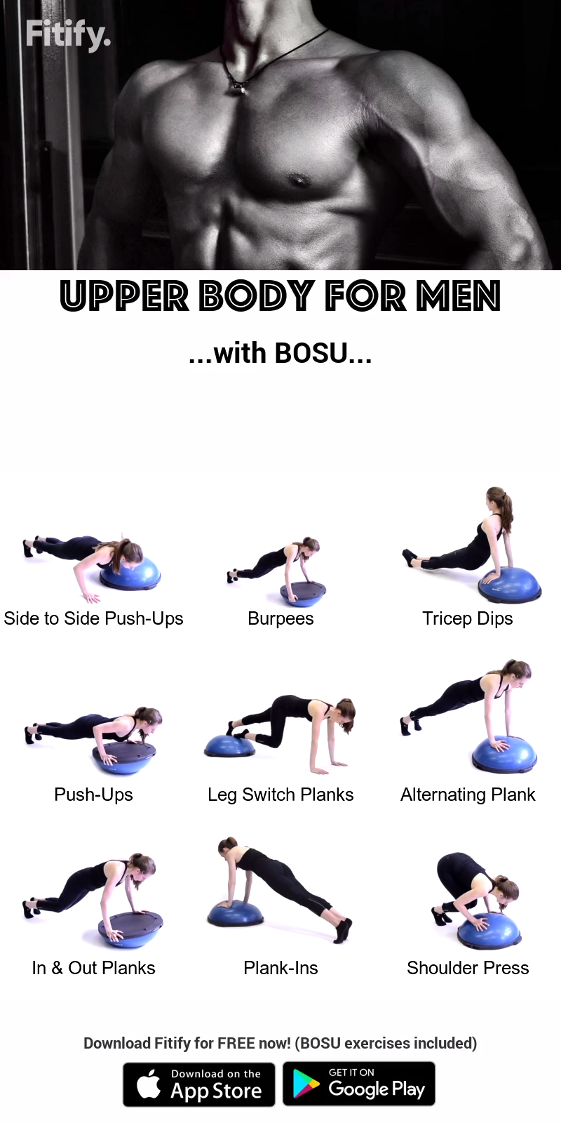 BOSU � UPPER BODY WORKOUT �