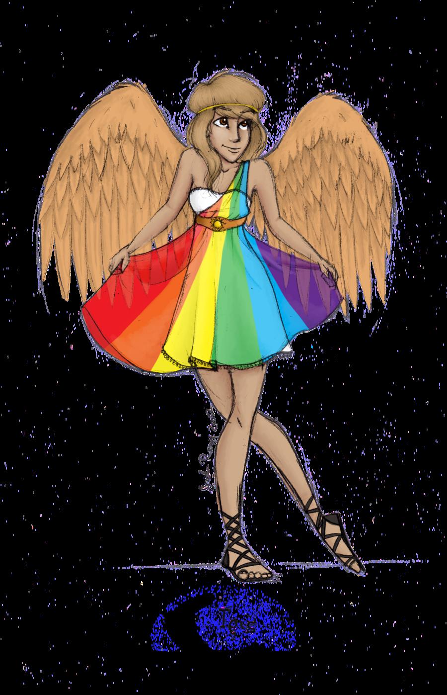 Greek Goddess: Iris by JadeAriel.deviantart.com on @deviantART