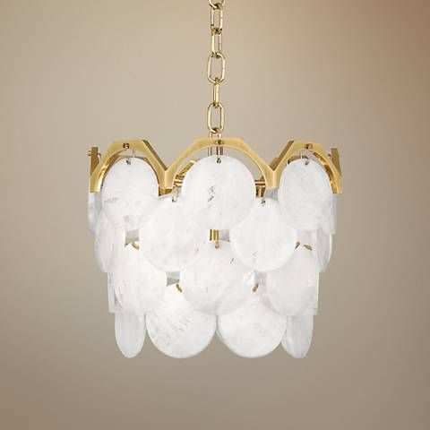 Robert Abbey Hope 13 3 4 Wide Modern Brass Pendant Light 9w799 Lamps Plus Brass Pendant Light Pendant Light Brass Pendant