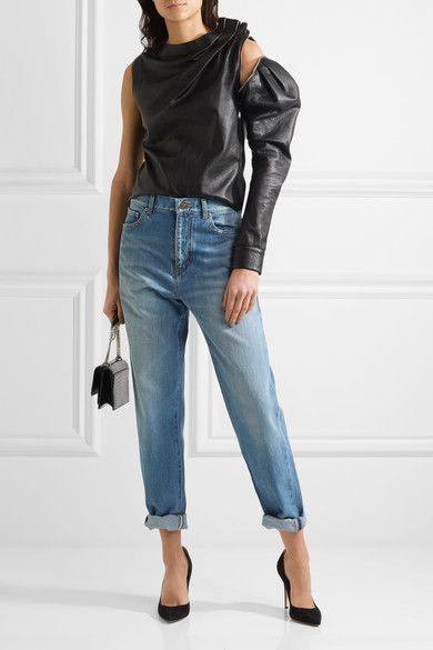 e040aca937d Saint Laurent - Boyfriend Jeans - Mid denim   Products   Jeans ...