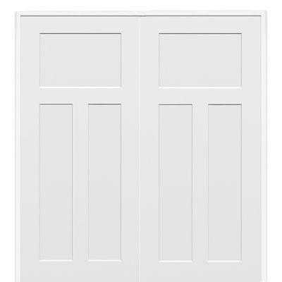 Verona home design craftsman mdf 3 panel prehung interior door verona home design craftsman mdf 3 panel prehung interior door wayfair planetlyrics Choice Image