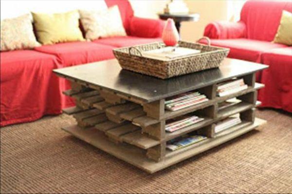 Couchtisch Palette diy möbel aus europaletten 101 bastelideen für holzpaletten holz