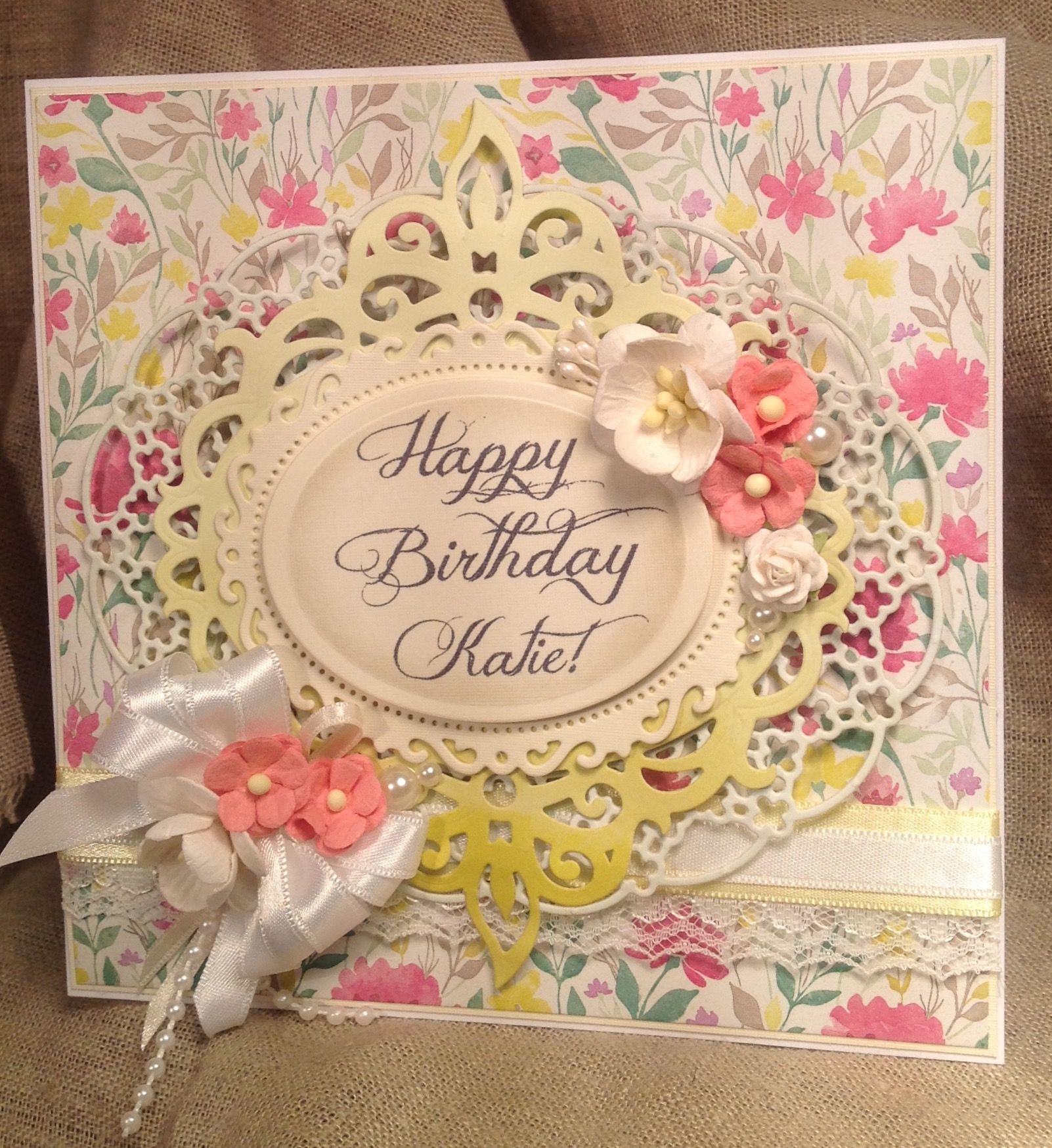 Pin by handmade cards by reelika on birthday cards pinterest cards