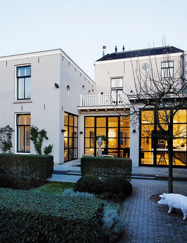 Ecole flamandePhotos Inga Powilleit  Nicole Marnati Window - Idee Facade Maison Moderne