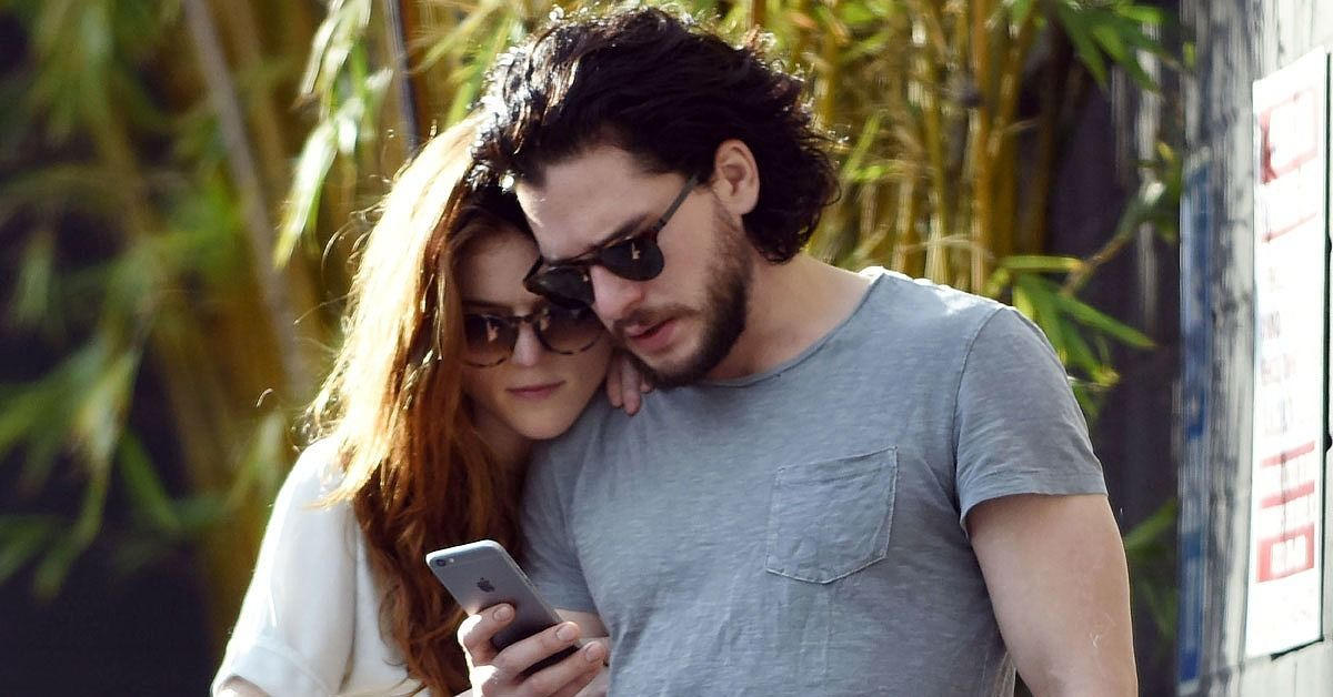 Kit Harington and Rose Leslie Kiss and Hold Hands During an Outing in L.A.