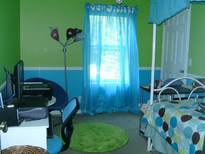 Green And Blue Kids Room Mine Is Lime