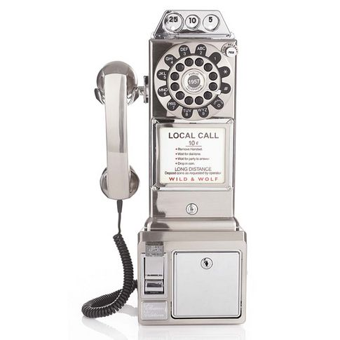1950er Diner Phone Münztelefon