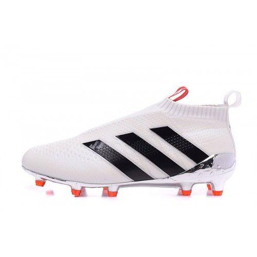 Adidas Ace 16 Purechaos FG AG,Adidas Ace 16 blanc noir