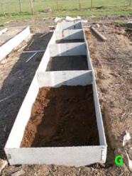 Raised Beds From Concrete Board Backyard Farming Backyard